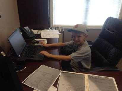 Jack at office